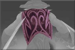 Bloodseeker's Diretide Shimmer Cape