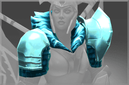 Legion Commander's Diretide Shimmer Shoulders