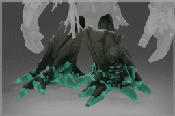 Treant Protector's Diretide Shimmer Feet