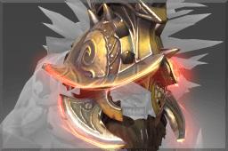 Beast of the Crimson Ring Helm