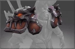 Raven's Flame Shoulder
