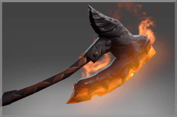 Raven's Flame Weapon
