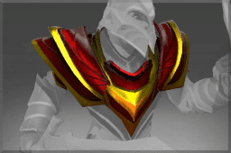 Crimson Wyvern Shoulders