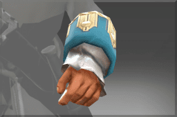 Commodore's Puffy Cuffs