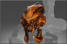 Skull of the Red Sand Warrior