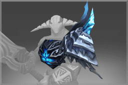 Pauldron of the Stormwrought Arbiter