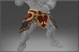 Armature of the Belligerent Ram Belt