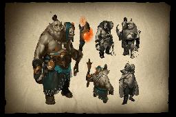 Envisioning Ogre Magi Loading Screen