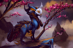 Masked Fey Loading Screen