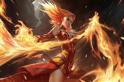 Fiery Slayer Loading Screen