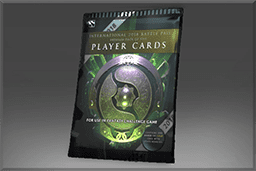 International 2018 Premium Player Card Pack