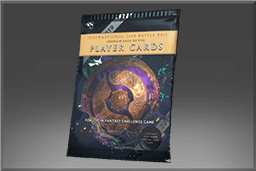International 2019 Premium Player Card Pack