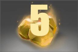 The International 10 - 5 Battle Pass Levels Token