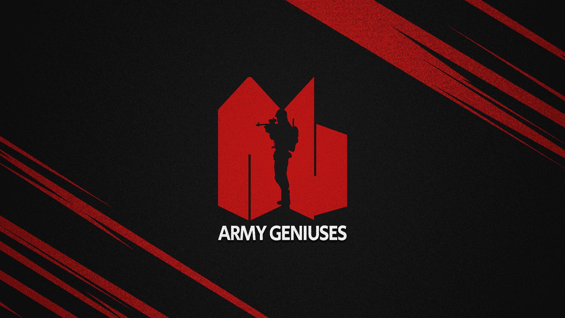 Team Wallpaper - Army Geniuses, Season 2, #1